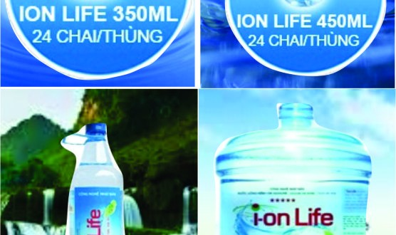 Nước uống Ion Life