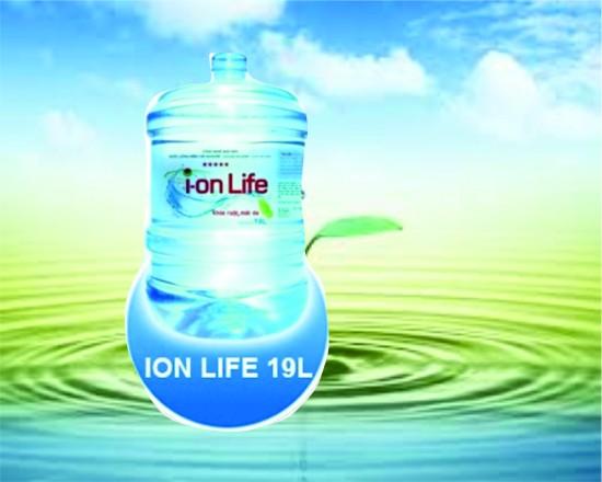 Giá nước ion life 19 lít