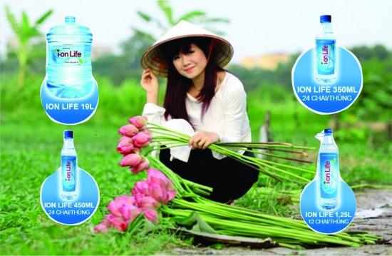 Đại lý nước uống tinh khiết Ion Life quận 3