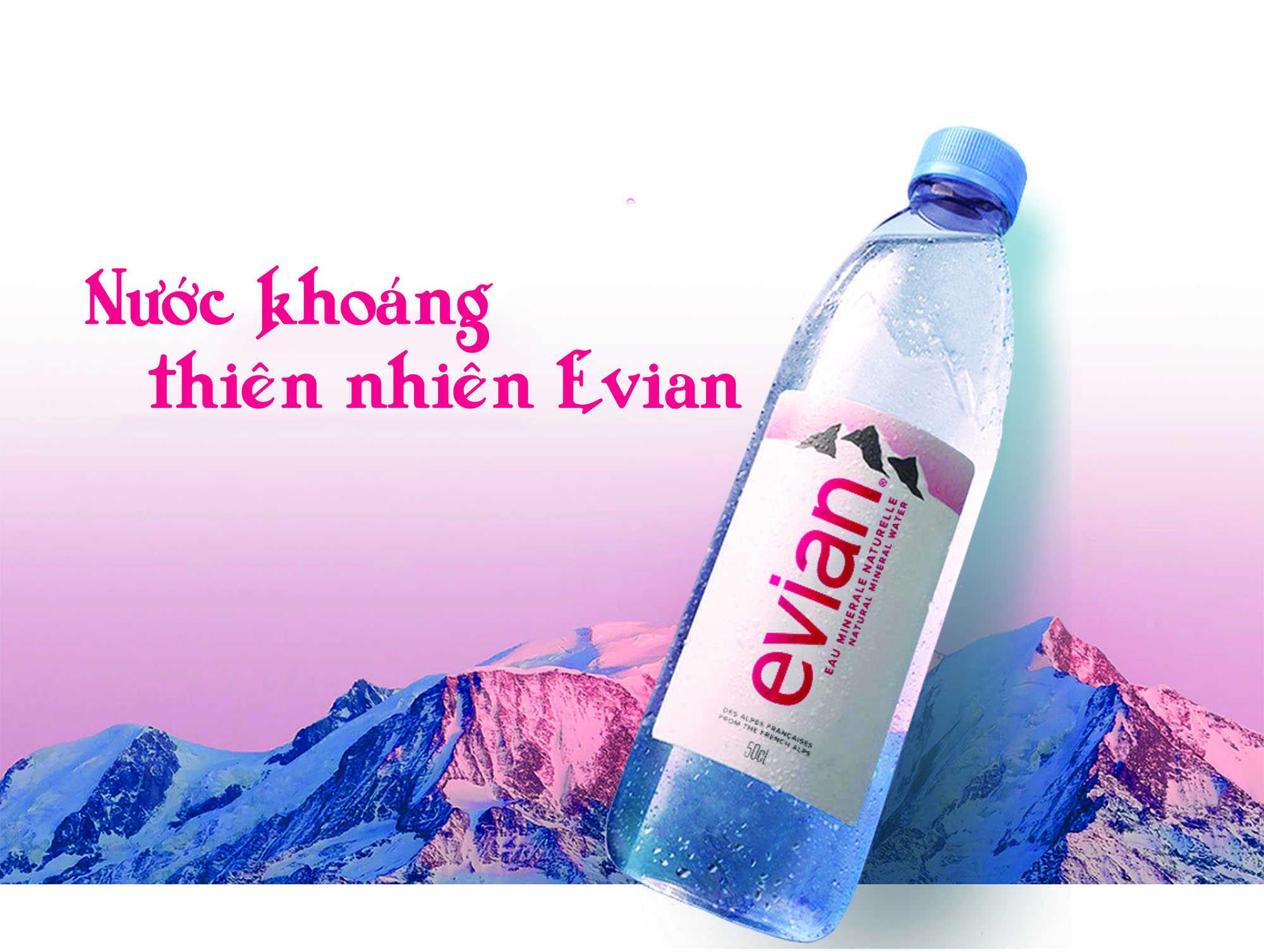 Công ty phân phối nước khoáng Evian