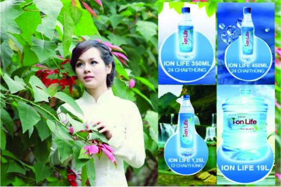 Đại lý nước uống tinh khiết Ion life quận 2