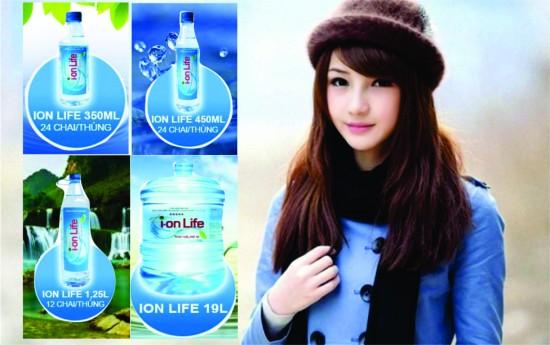 Nước tinh khiết Ion Life kiềm cao cấp