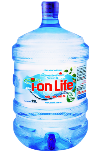 Ion life bình 19L có vòi