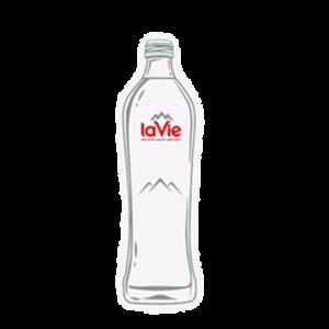Nước suối chai thủy tinhLaVie glass