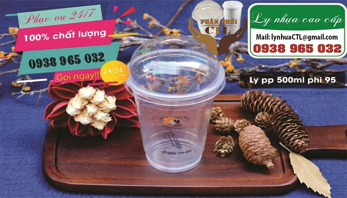 Ly nhựa 500ml PP