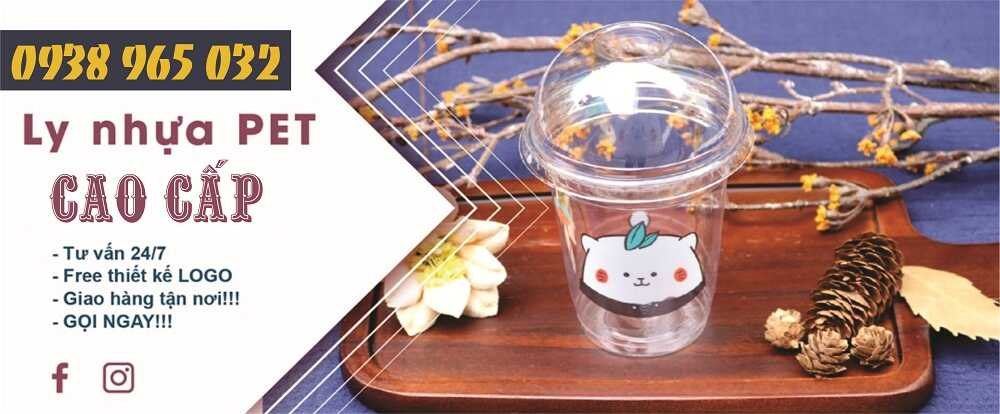 Ly nhựa trà sữa Pet