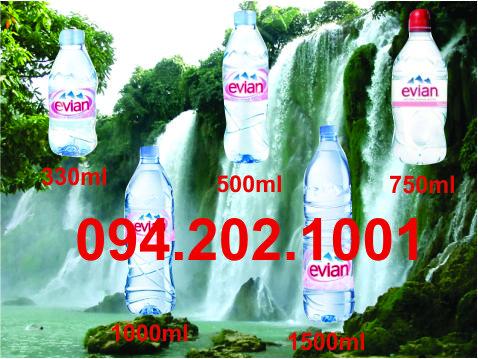 Đại lý phân phối nước khoáng EVIAN