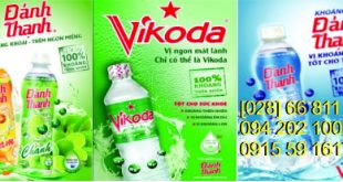 Nước uống đóng bình Vikoda