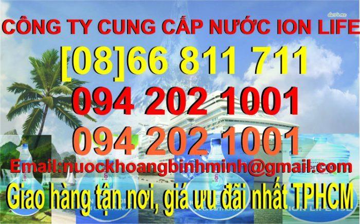 nước uống ION LIFE quận Bình Thạnh