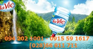Đại lý nước khoáng LaVie quận Bình Thạnh