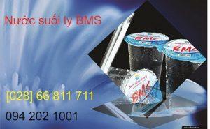 Nước uống đóng ly BMS