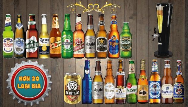 Phân phối cung cấp bia nước ngọt