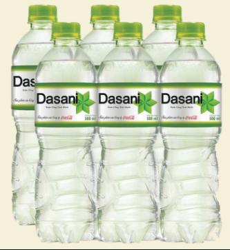 Phân phối nước suối Dasani