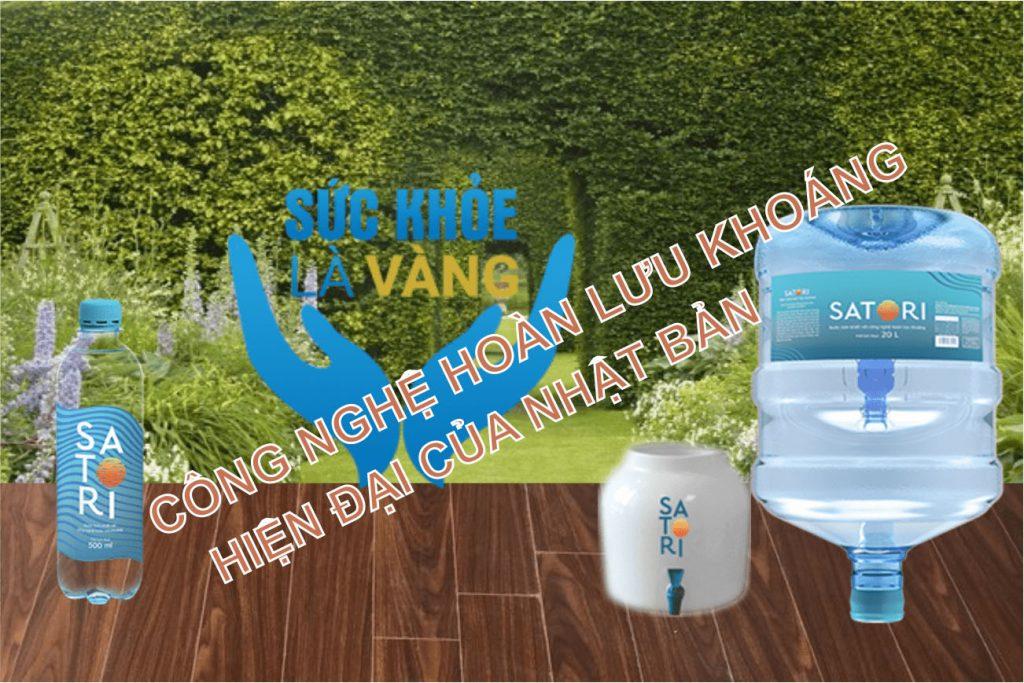Đại lý nước uống SATORI quận 4