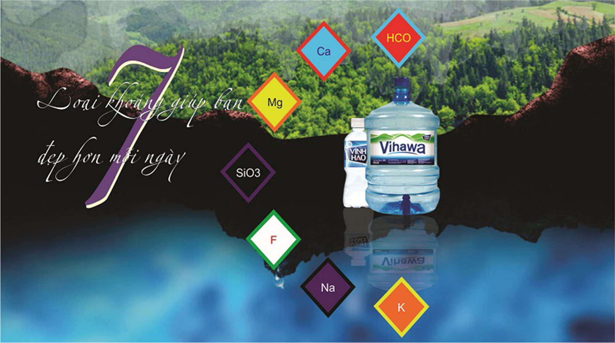 Nước Vĩnh Hảo, Vihawa