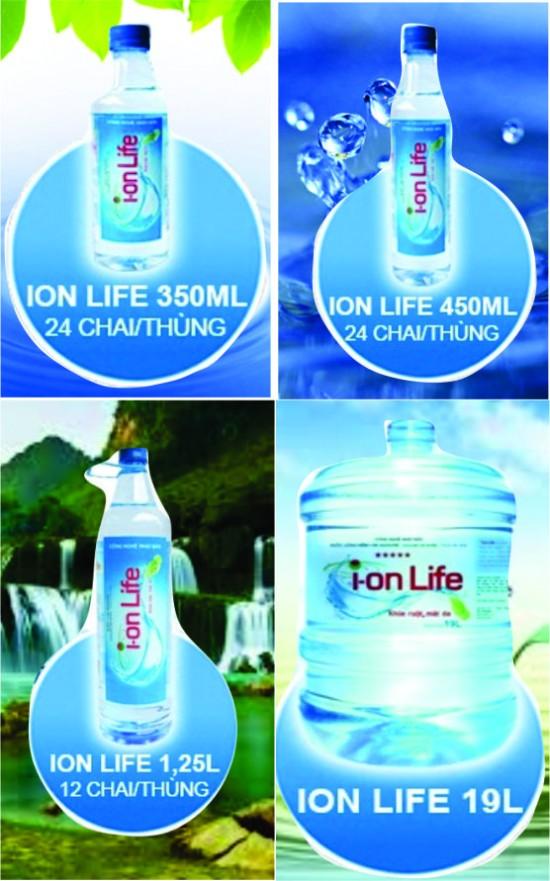Nước uống tinh khiết Ion life