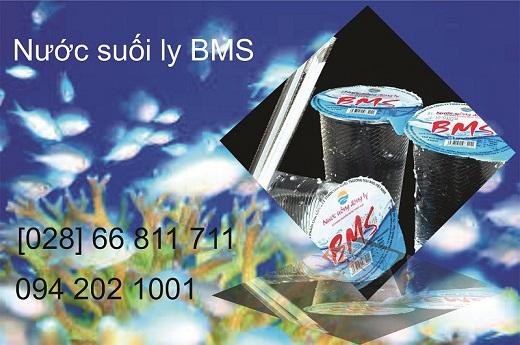 Nước suối ly BMS