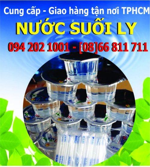 Nước suối uống đóng ly nhựa hộp nhỏ Wami